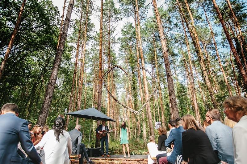 musiciens bois cérémonie laïque