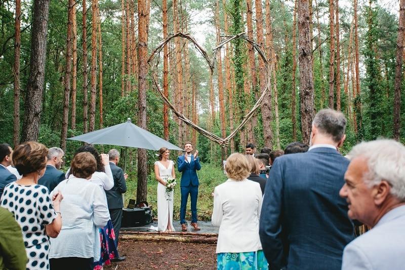 ceremonie laique foret romantique